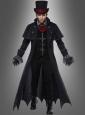 Gothic Vampir Costume for Men Deluxe