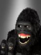 Gorilla Maske beweglich Ani-Motion