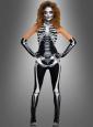 Skelett Neckholder Overall