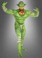 Ork Morphsuit grün Big Mouth