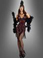Deluxe Flapper Kleid mit Pailletten