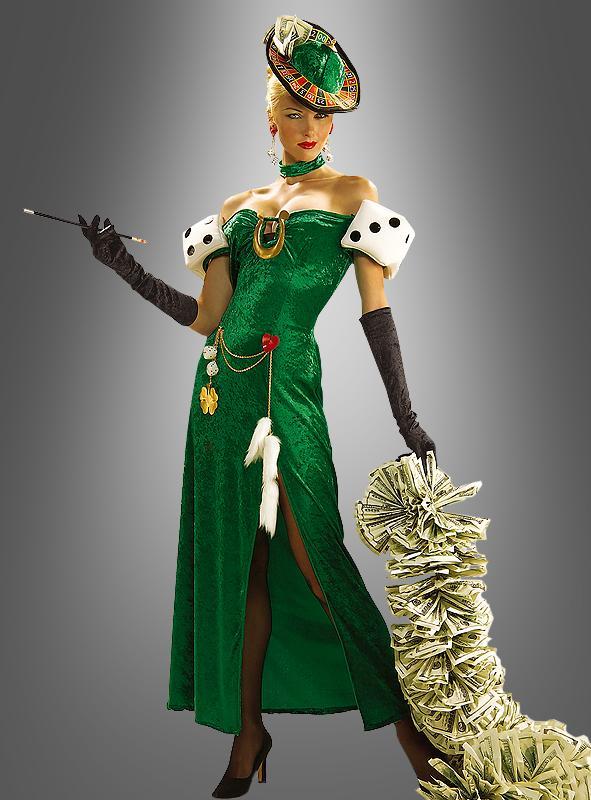 Casino Glücksspielerin Kostüm