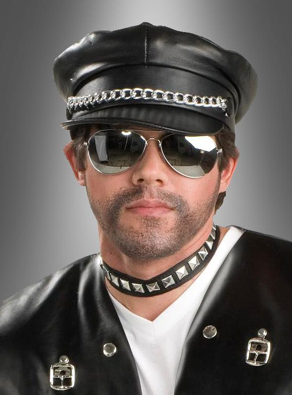 Biker Cap with chains