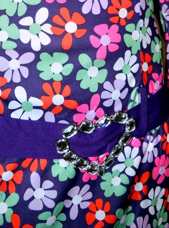 Disco Flower Gogo Costume