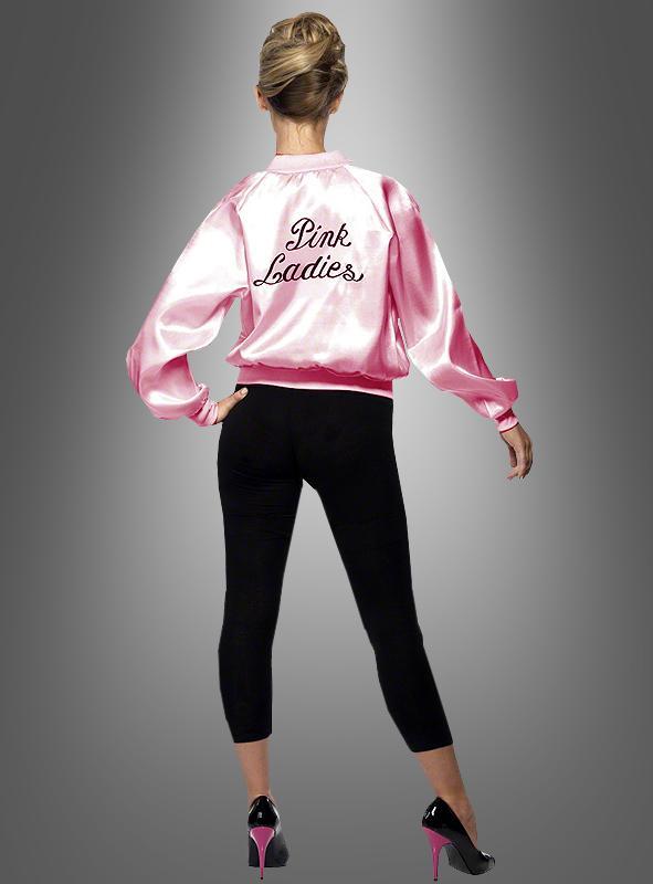 Pink Ladies Jacket Grease 60s