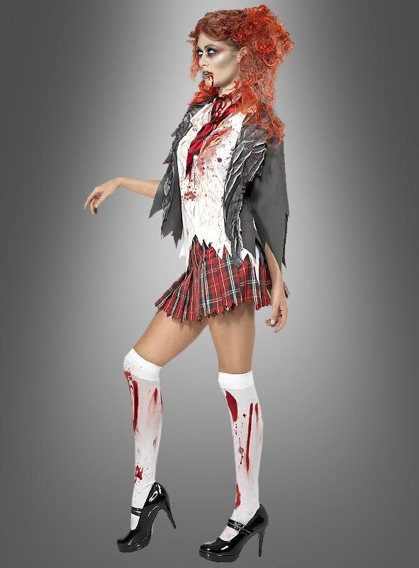 Zombie School Girl Women Costume