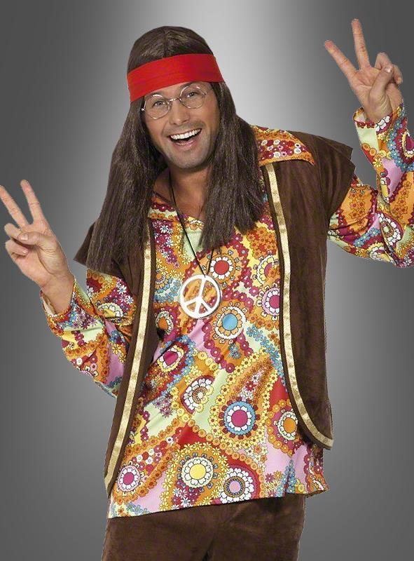 Psychedelic 1960s Hippie costume