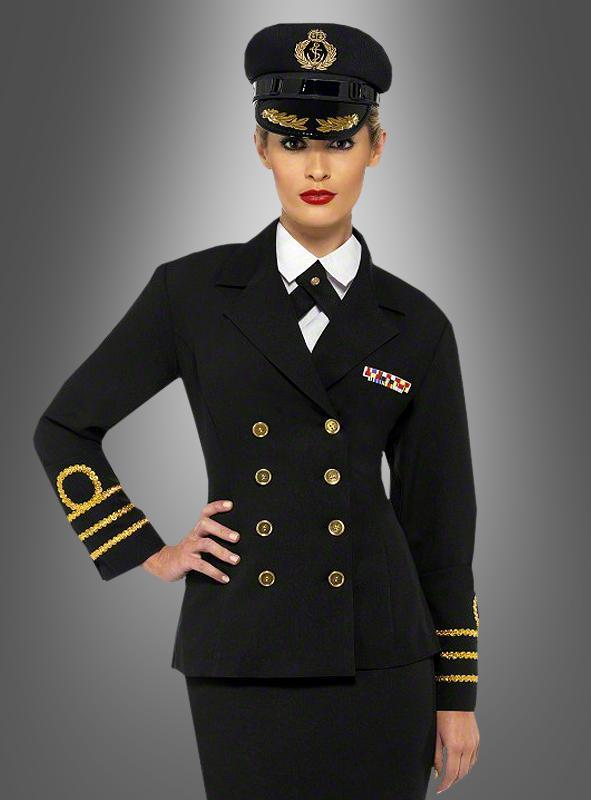 Female Navy Officer Captain Costume