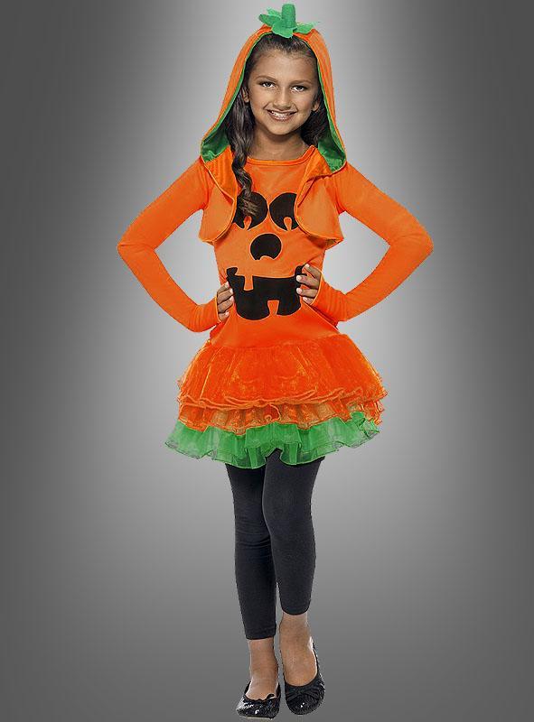 Pumpkin Dress for Girls