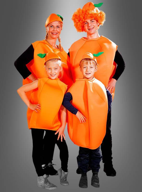 Fruchtige Orange Kinderkostüm