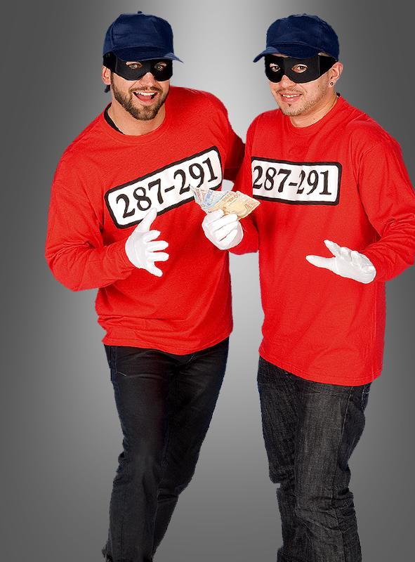 Criminal Shirt Gangster Costume
