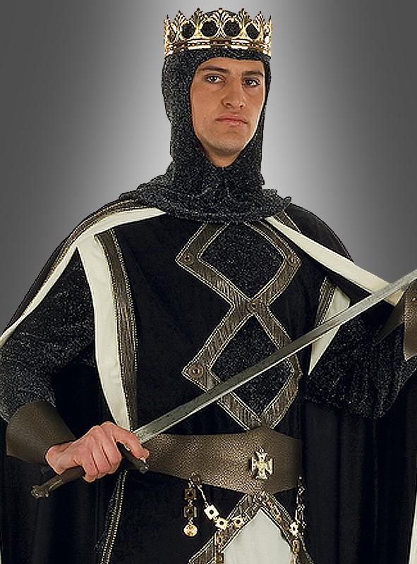 Deluxe Mittelalterkönig Herrenkostüm