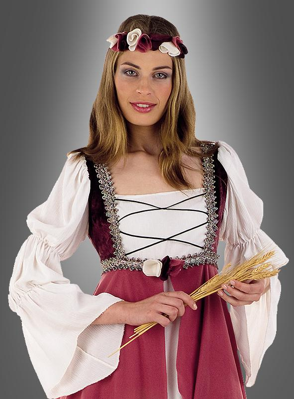 Clarisa Mittelalterkostüm Burgfräulein