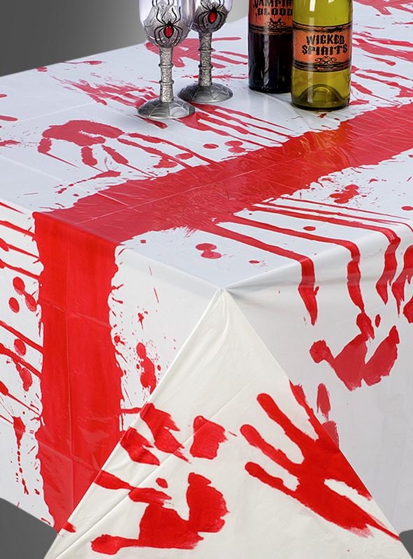 Table Cloth bloody Halloween