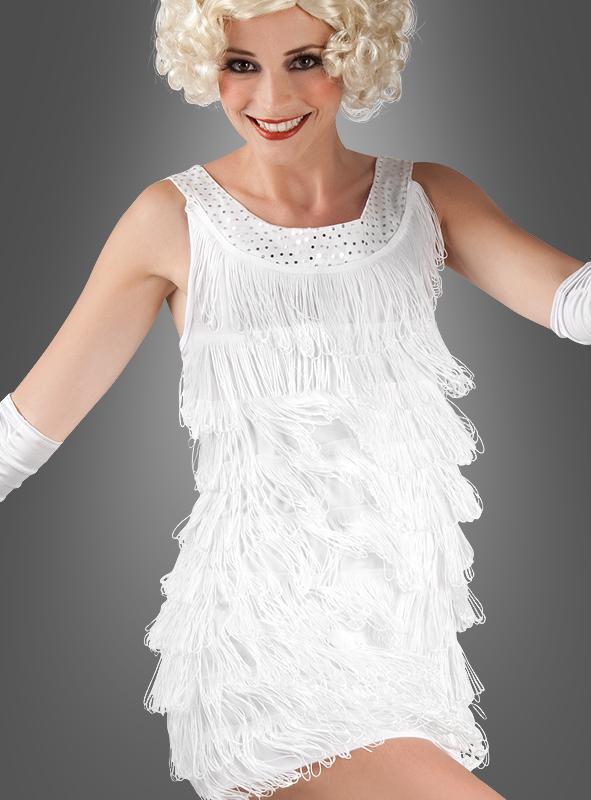 Flapper Dress Diana white