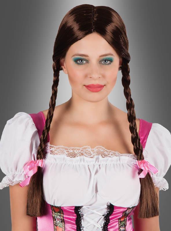 Zopfperücke Heidi