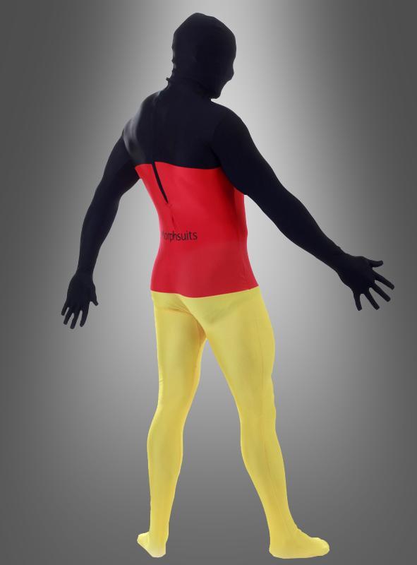 Morphsuits German Flag second Skin