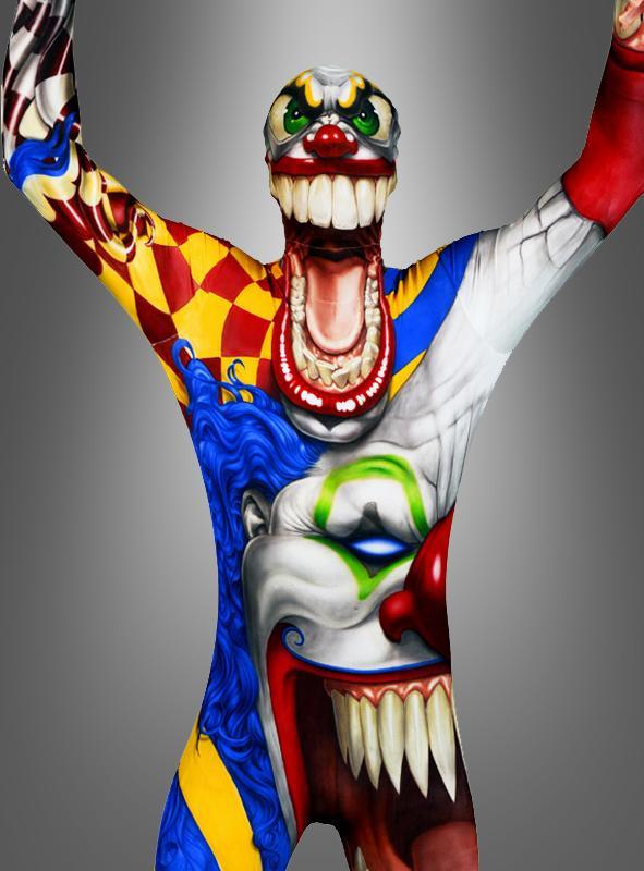 Clown Monster Morphsuit