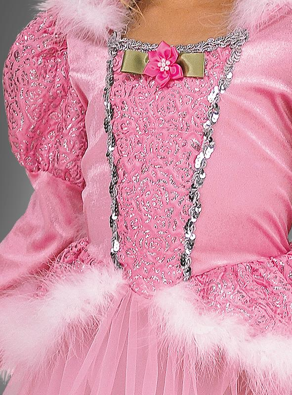 Deluxe Rose Princess Children Costume