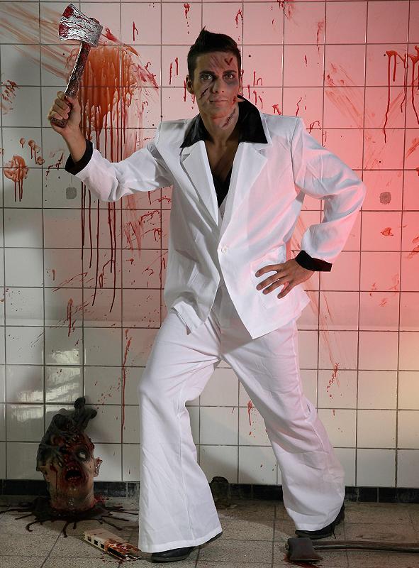 70er Jahre Disco Tony Kostüm 2. Wahl