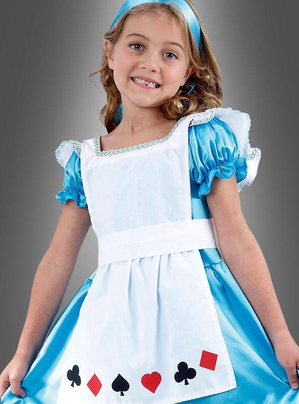 Alice Kinderkostüm mit Schürze