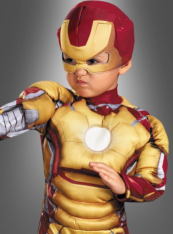 Iron Man 3 Children Costume gold