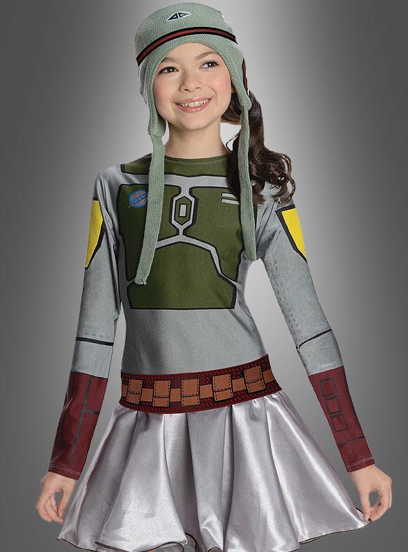 Boba Fett Dress for Girls