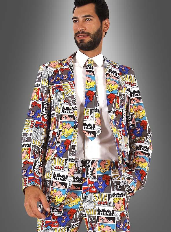 Comic Suit for Men
