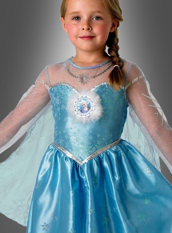Elsa Deluxe Eiskönigin Kostüm