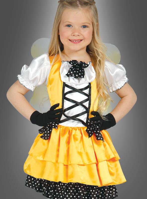 Butterfly Yellow Girl Costume