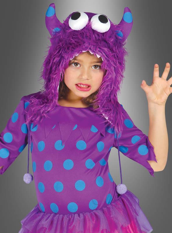 Kleines Lila Monster Kinderkostüm