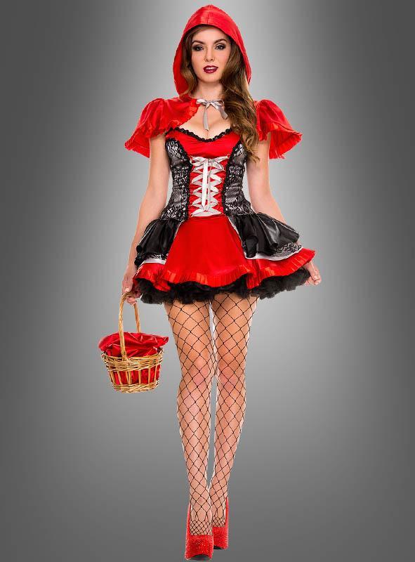Feuriges Rotkäppchen Kostüm
