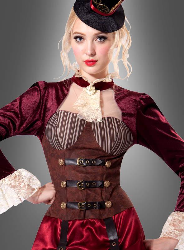 Steampunk Kleid Viktoria für Ladies