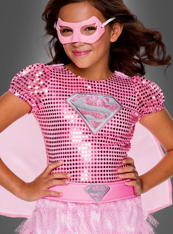 Pink Supergirl Tutu Dress