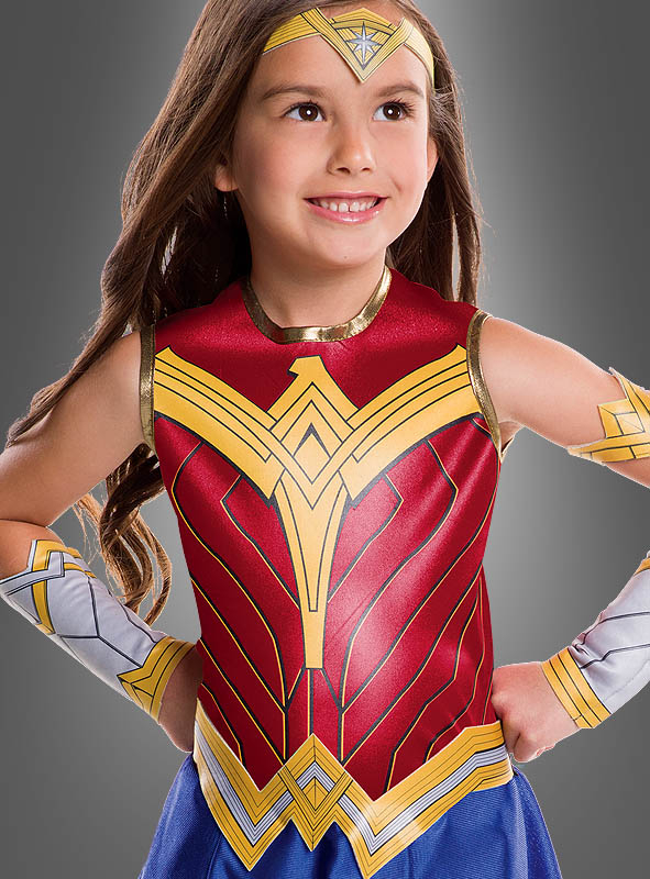 Wonder Woman Kinderkostüm Justice League