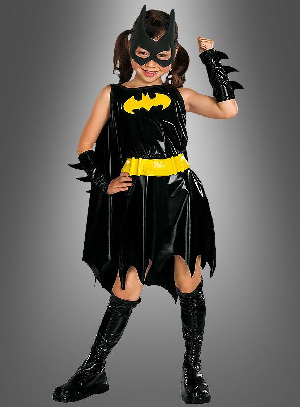 Child Deluxe Batgirl costume; Child Deluxe Batgirl costume & Batgirl Superhelden Kinderkostüm