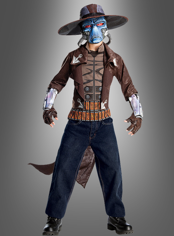 Cad Bane DELUXE Star Wars The Clone Wars Kinderkostüm
