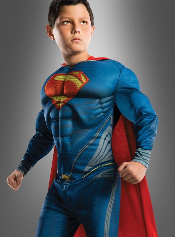 Man of Steel Children Costume