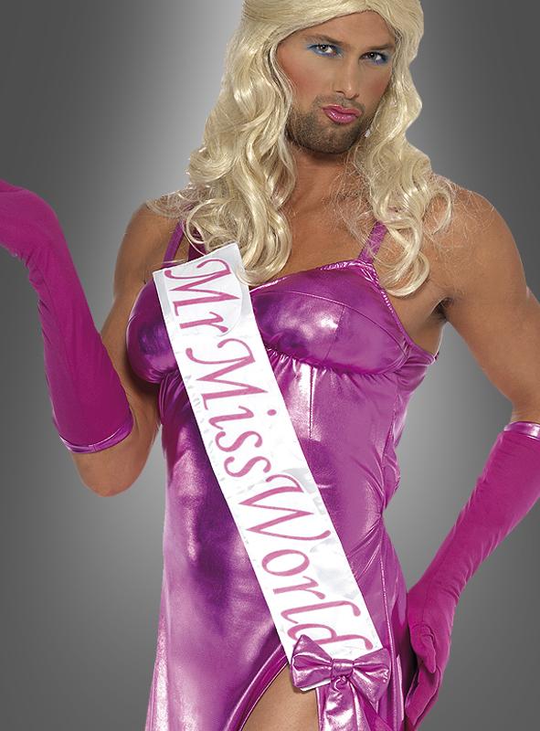Mister Miss World Spaßkostüm