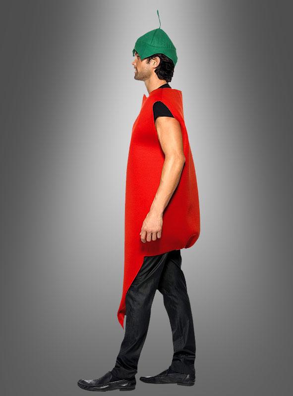 Rote Chili Schote Kostüm Unisex