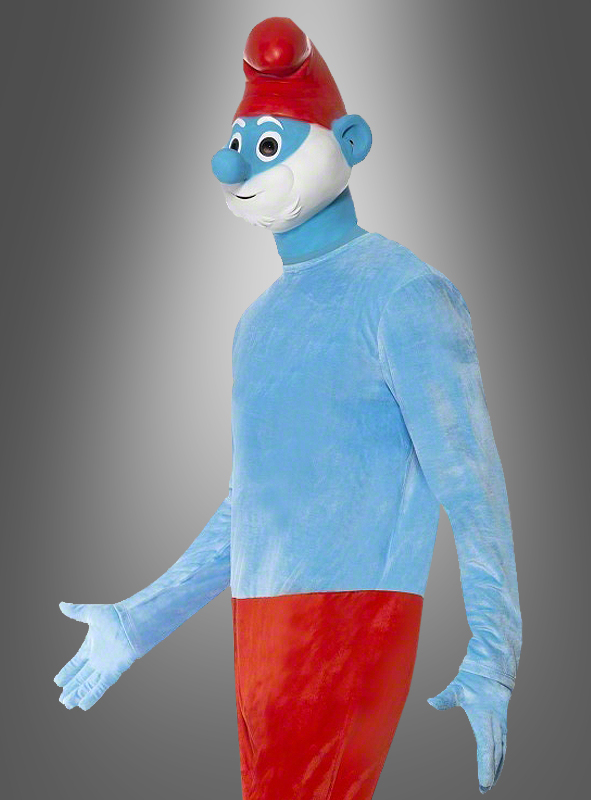 Deluxe Papa Smurf Adult costume