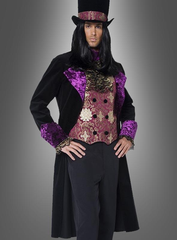 Gothic Vampir Kostüm Graf