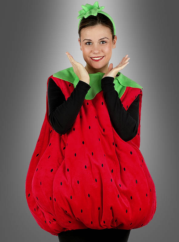 Sweet Strawberry Costume for Adults Unisex