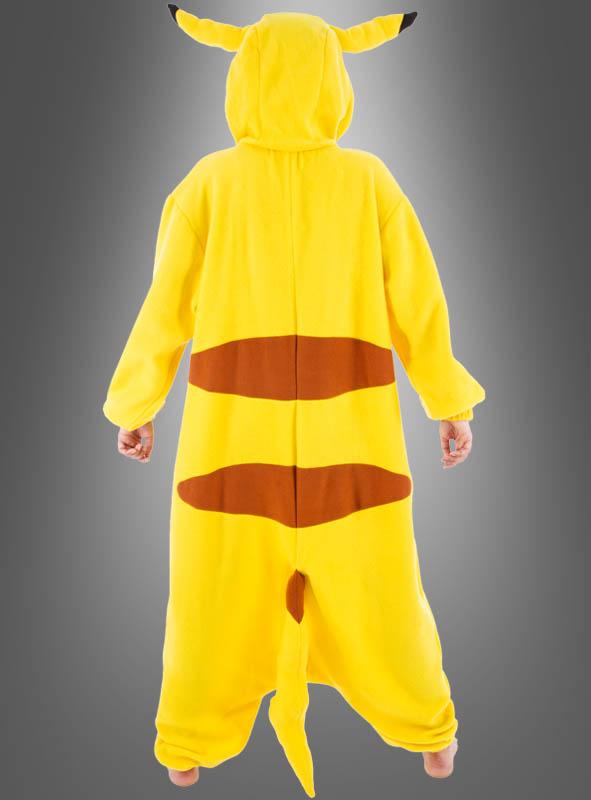 Yellow Pocket Monster Adult Costume