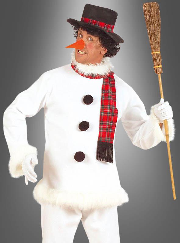 Schneemann Kostüm für Erwachsene