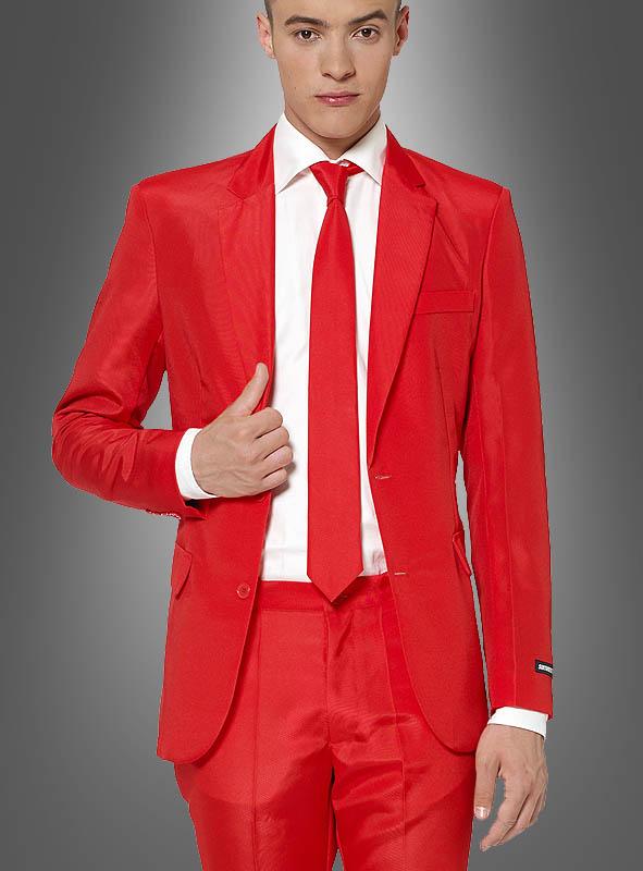 Roter Anzug Herren Suitmeister