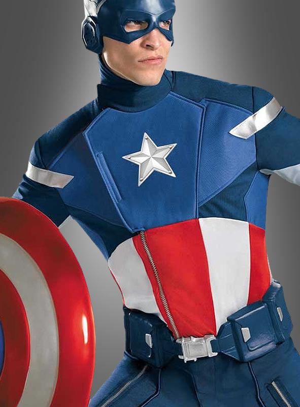 Captain America Super Deluxe costume
