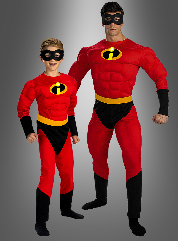 "Mr. Incredible costume ""The Incredibles"" Adult"
