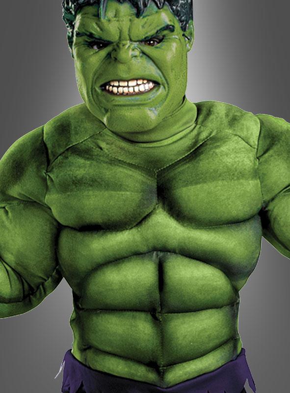 Hulk Muskelkostüm für Kinder