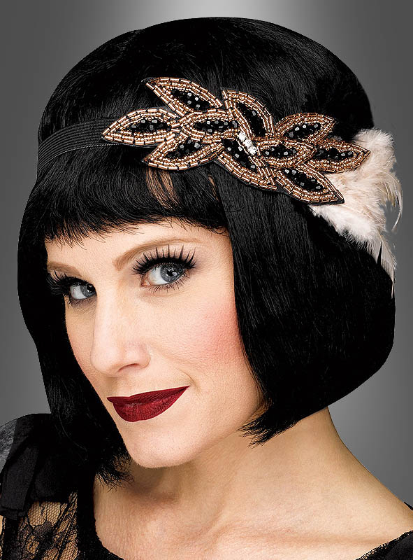 Deluxe Flapper Headband with Beads
